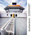 Ships Bridge Of A Modern Ferry