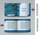 Brochure Template With Abstrac...