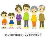 family | Shutterstock .eps vector #225444577