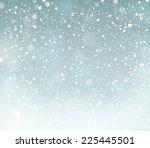 snow theme background 6   eps10 ... | Shutterstock .eps vector #225445501