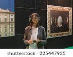 milan  italy   october 22 ... | Shutterstock . vector #225447925