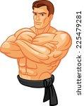 strong man | Shutterstock .eps vector #225479281