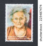 Small photo of UNITED KINGDOM - CIRCA 2006: a postage stamp printed in United Kingdom showing an image of Dame Cicely Saunders, circa 2006.