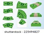 image of money. | Shutterstock .eps vector #225494827