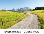 Alpine Hiking Path In The...