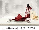 Wine Napkin And Glasses