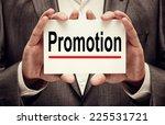 promotion concept | Shutterstock . vector #225531721
