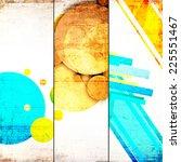 grunge background with...   Shutterstock . vector #225551467