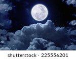 Beautiful Midnight Sky With...