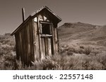 An Old Toilet Or 'outhouse'...