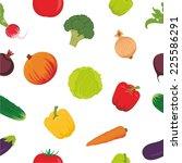 vector illustration seamless... | Shutterstock .eps vector #225586291