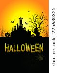 background for halloween... | Shutterstock . vector #225630325