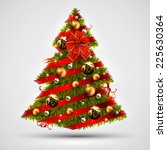 christmas tree design | Shutterstock .eps vector #225630364