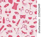xxx seamless background | Shutterstock .eps vector #225632449