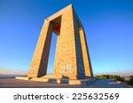 canakkale martyrs' memorial ...   Shutterstock . vector #225632569