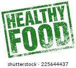 healthy food stamp | Shutterstock .eps vector #225644437