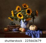 Still Life With Sunflowers ...