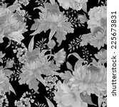 seamless floral pattern with... | Shutterstock .eps vector #225673831