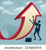 abstract businessman... | Shutterstock .eps vector #225685555