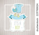Baby Shower Card  It's A Boy