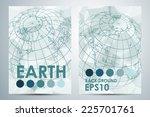 abstract modern business... | Shutterstock .eps vector #225701761
