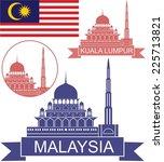 malaysia. logo | Shutterstock .eps vector #225713821