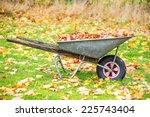 Wheelbarrow Filled With Autumn...
