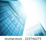 panoramic and perspective wide... | Shutterstock . vector #225746275