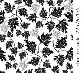 black and white seamless... | Shutterstock .eps vector #225765175