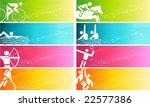 sports banner | Shutterstock .eps vector #22577386