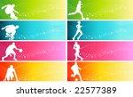 sports banner | Shutterstock .eps vector #22577389