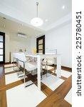 interior of a luxury dining... | Shutterstock . vector #225780451