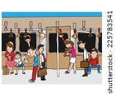 People On Subway Mass...