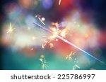 colorful sparkler. shallow...   Shutterstock . vector #225786997