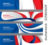 abstract french flag  france... | Shutterstock .eps vector #225805639