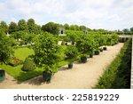 garden park of schonbrunn... | Shutterstock . vector #225819229