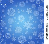 winter seamless texture with...   Shutterstock .eps vector #225826681