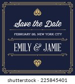 Vintage Style Invitation For...