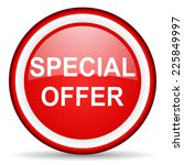 special offer web icon | Shutterstock . vector #225849997