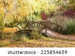 Wooden Bridge In The Autumn...