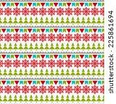 holidays vintage christmas... | Shutterstock .eps vector #225861694