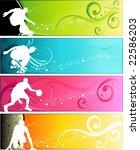 sports  banner | Shutterstock .eps vector #22586203