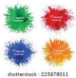 Watercolor Firework Splatter....