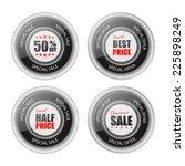 set of label. | Shutterstock .eps vector #225898249