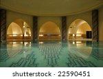 inside of a traditional hammam...   Shutterstock . vector #22590451