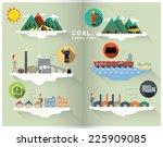 coal graphic | Shutterstock .eps vector #225909085