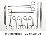 Surgical Instruments Set On A...