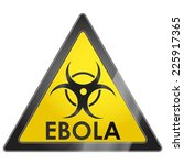 ebola african deadly contagious ... | Shutterstock .eps vector #225917365