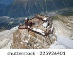 the viewing point on aiguille...