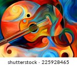 Abstract Painting On The...